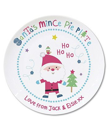 Personalised Santa\u0027s Mince Pie Plate  sc 1 st  Pinterest & Personalised Santa\u0027s Mince Pie Plate | Mince pies and Pie plate
