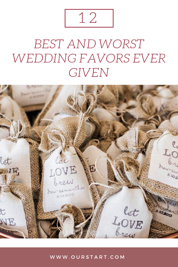 12 Of The Best And Worst Wedding Favors Of All Time Before You Spend The Cash Our Start Wedding Shower Party Favors Wedding Favors Wedding Favors Unlimited
