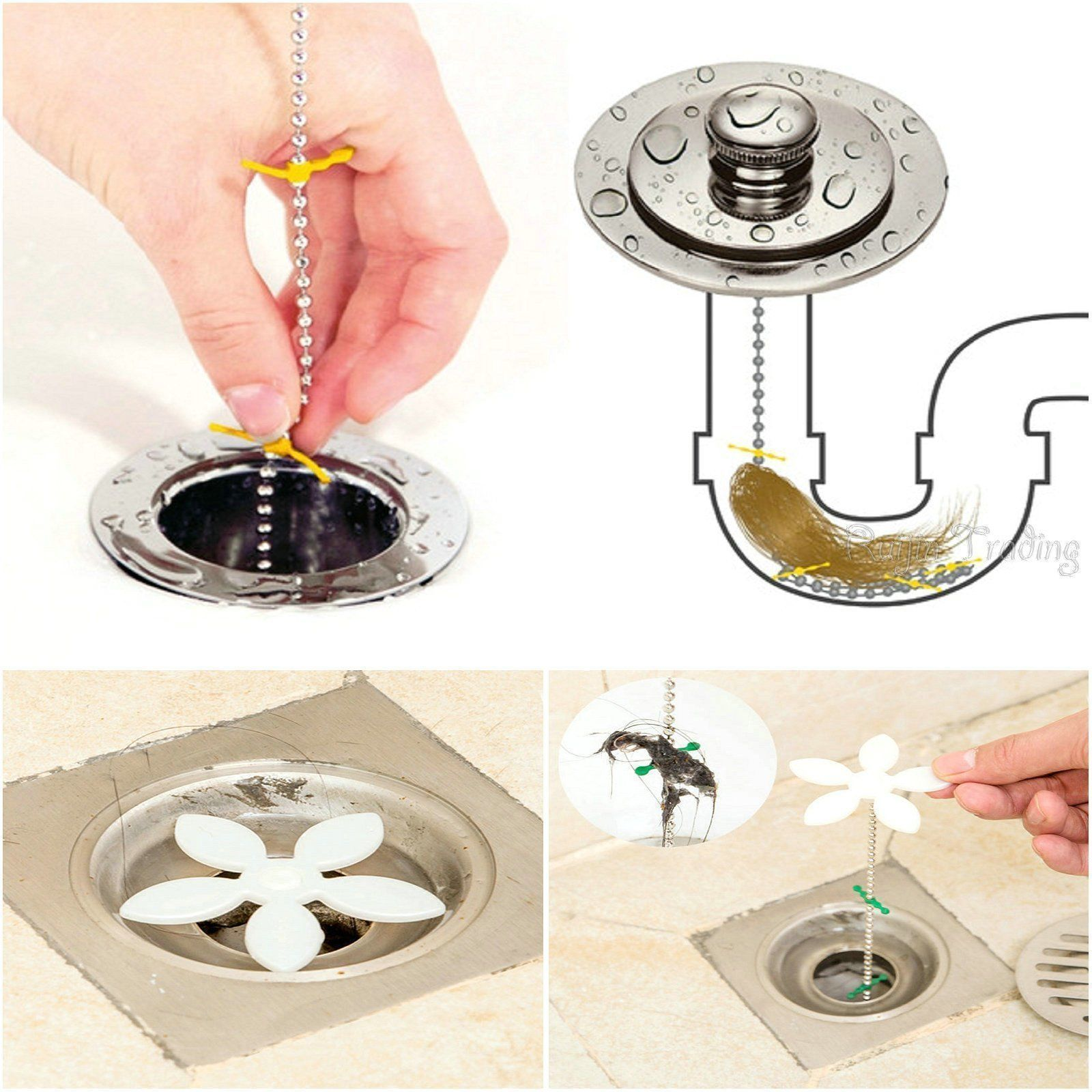 2 89 Shopsphera Hot Best Selling Item For You Hair Clog Remover Ebay Home Garden With Images Shower Drain Cleaning Tools Shower Cleaner