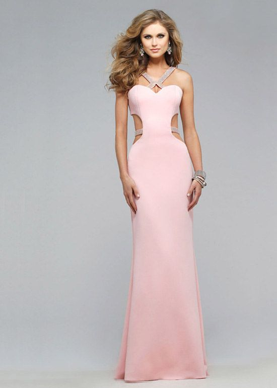 Attractive Prom Dress With Cutout Sides Images - Wedding Dresses ...