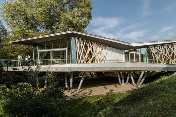 Maison Bois Béton Construire Tendance - Part 3 architecture