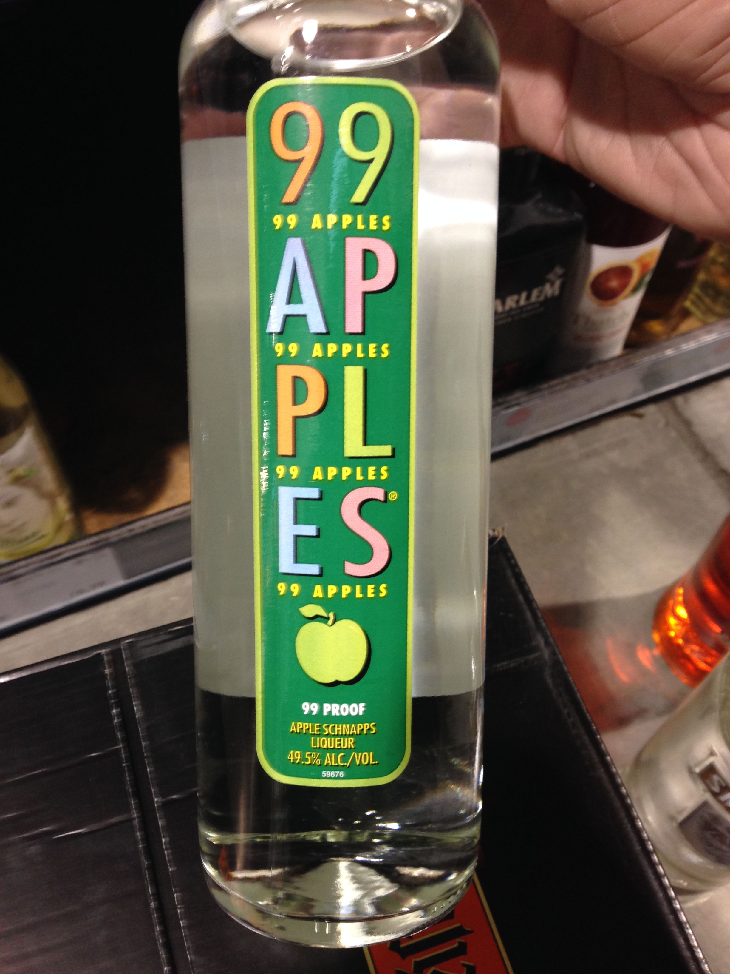Not Really The Best Replacement For Apple Schnapps Although It Did Have Its Merits