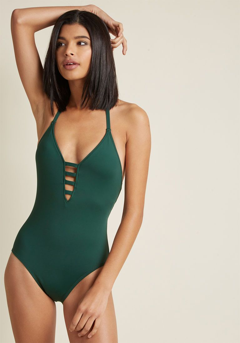 Splash It Out One-Piece Swimsuit in Red in 16W in 2019  ed38d06d2