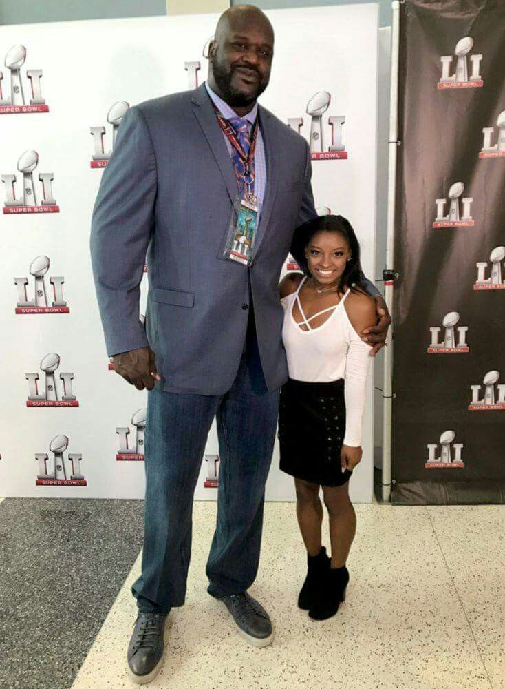 1b3b83836c9 Shaquille O'Neal and Simone Biles | The World's Greatest ...