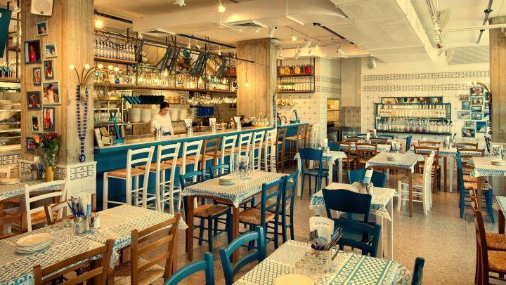 Greco Greek Restaurant By Dan Troim Tel Aviv Israel Retail