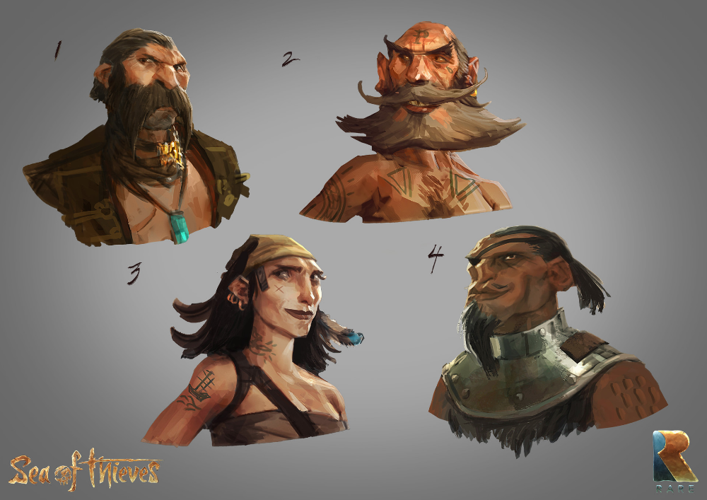 Sea Of Thieves 100 Concept Art Collection Sea Of Thieves Concept Art Art