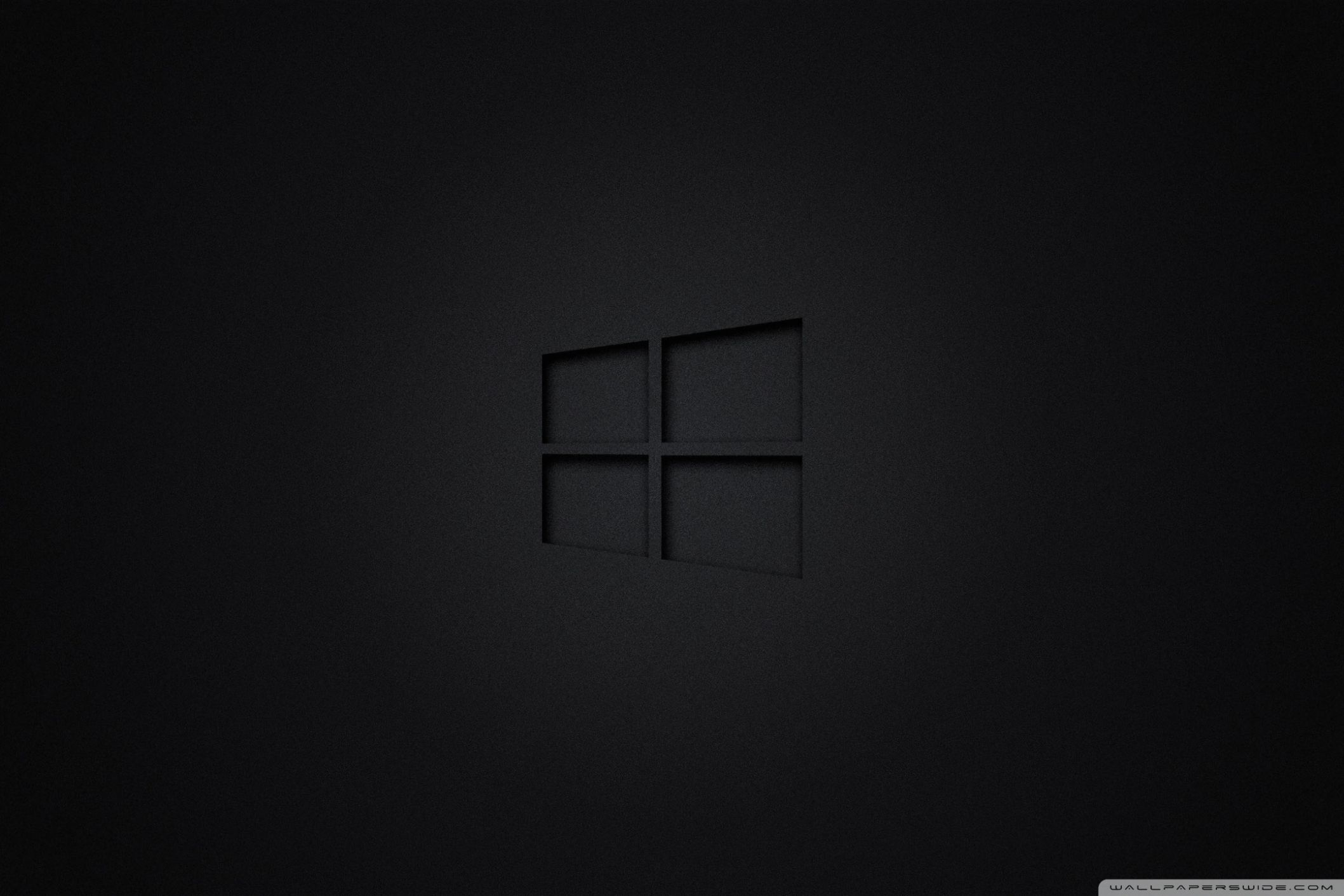 Wall Windows 10 Black 4k Hd Desktop Wallpaper For 4k Ultra Hd