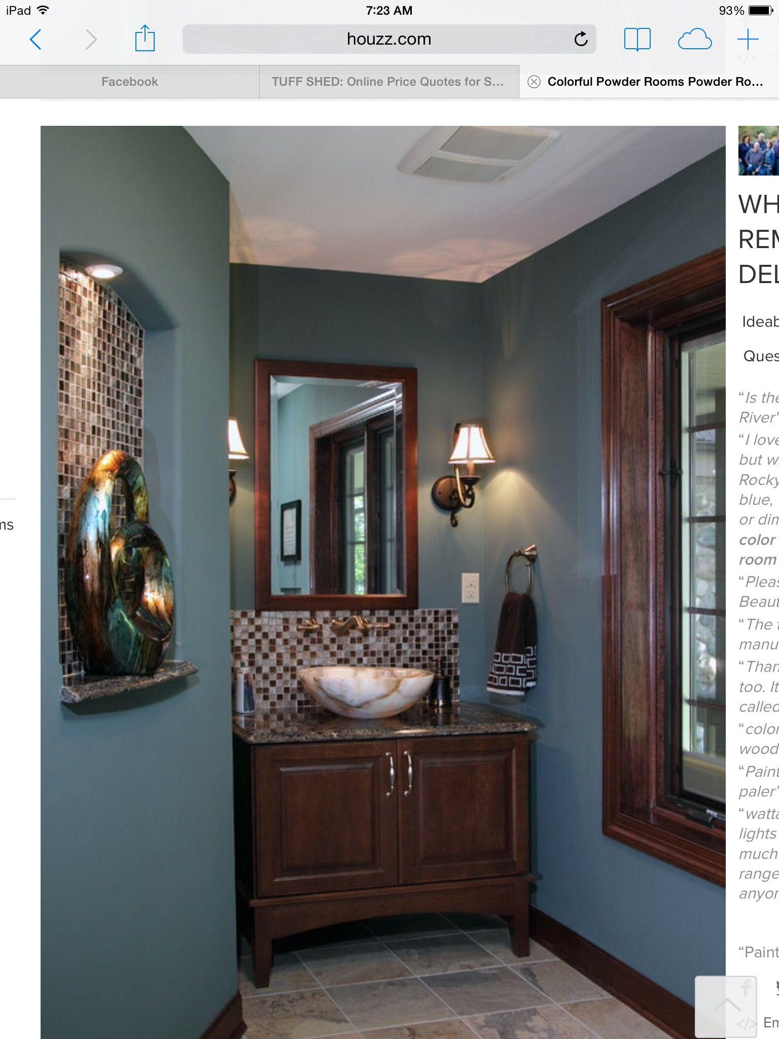 Color Paint Bathroom Walls