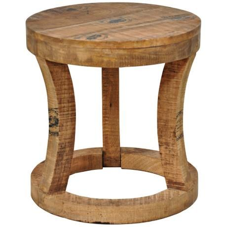paris mango wood and iron round accent table 18 h x 17 diamenter rh pinterest com