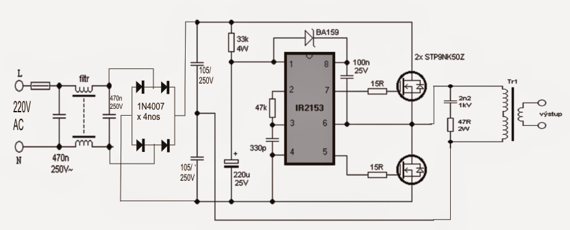 pir security light circuit diagram dump trailers for sale halogen+lamp+circuit.png (832×336) | ir2153 pinterest