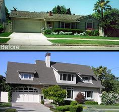 Superior Second Floor Additions Before And After | Edwin Bruce Associates: Second  Story House Additions