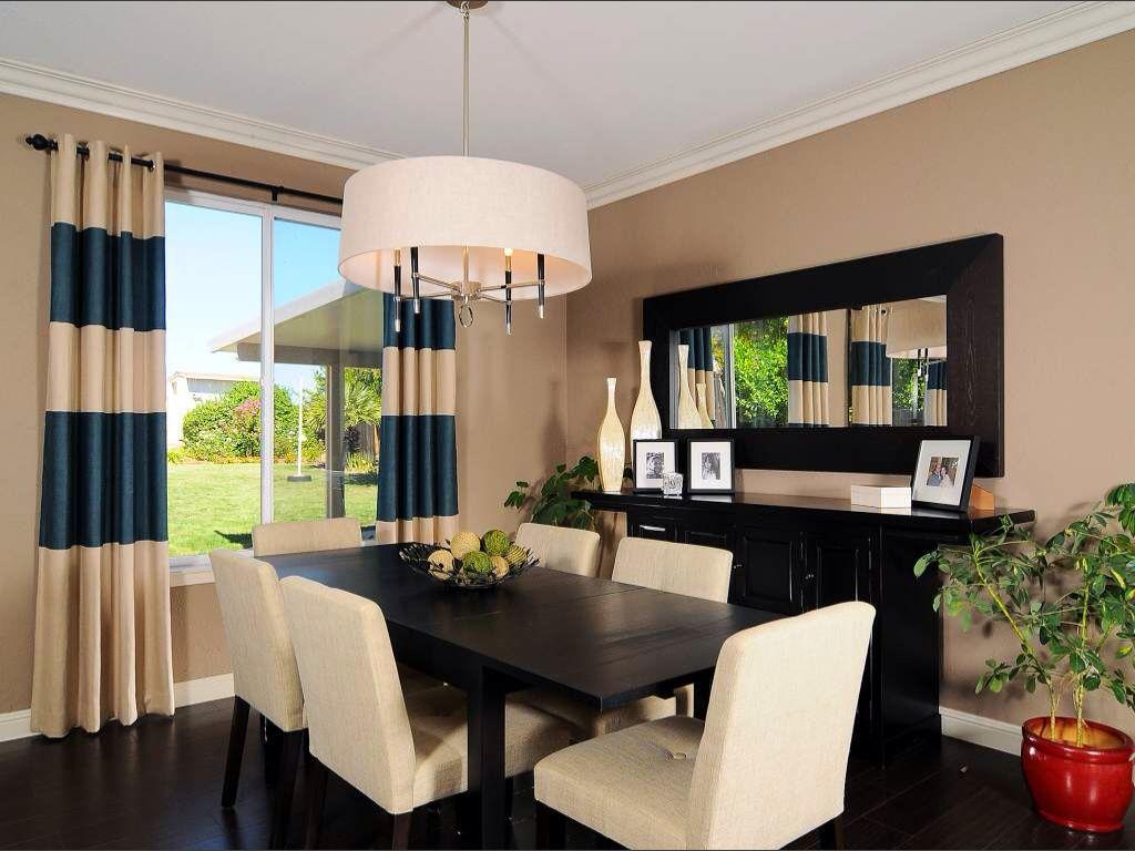 sleek modern dining room great contrast between the