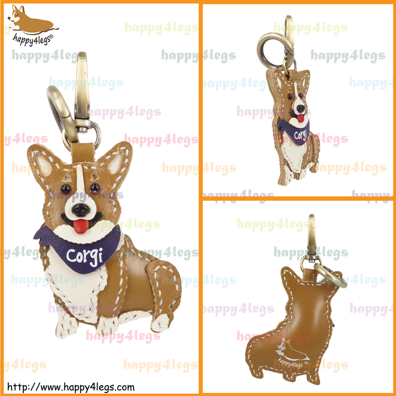 Welsh Corgi Pembroke Genuine Leather Bag Charm http://www.happy4legs.com/#!welsh-corgi-pembroke-bag-charm-1/nvglk