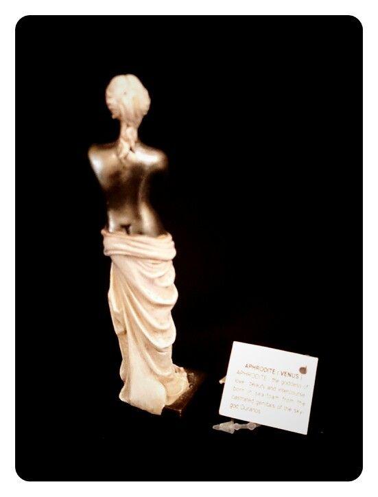 APHRODITE Greek Goddess of Love back view