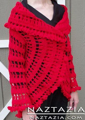 Free Pattern - Crochet Circle Sweater Jacket