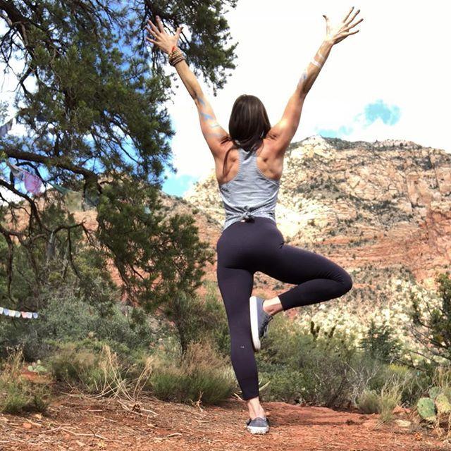 Yoga is my favorite. . . . . #yogapose #treepose # ...