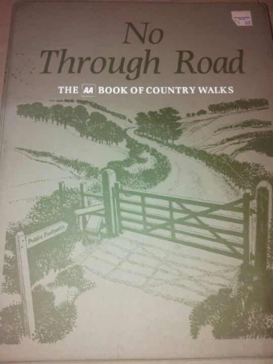No Through Road: the AA book of country walks 2