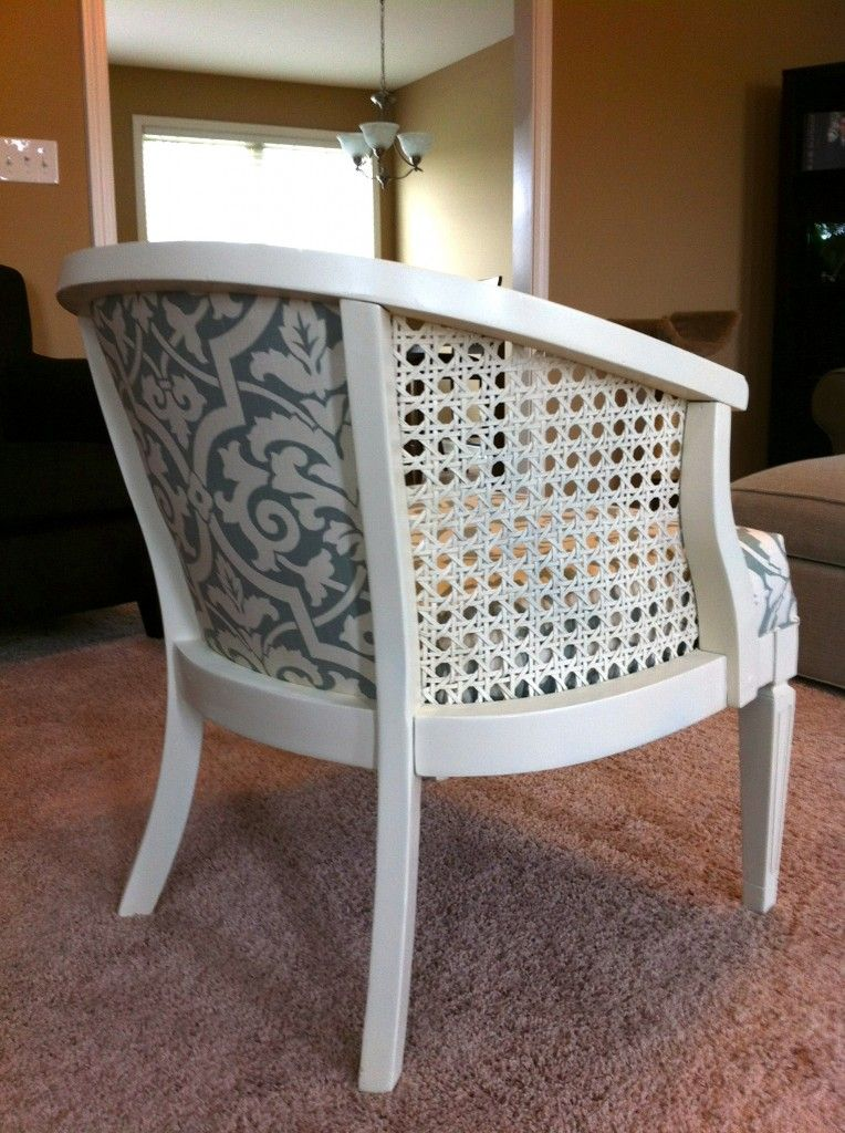 Reupholstering A Cane Back Chair Furniture Projects Pinterest Upholstery Furniture Redo