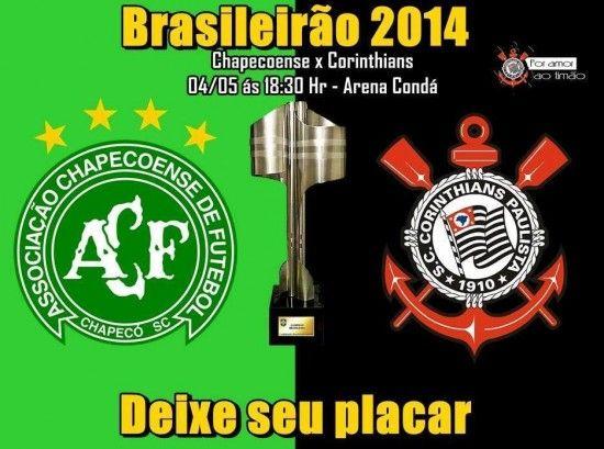 Corinthians X Chapecoense Ao Vivo Imagem 550x409 Assistir