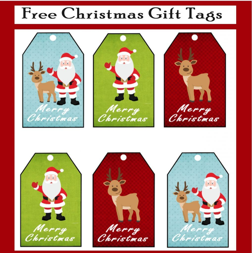 Free Printable Christmas Gift Tags is part of Christmas gift tags printable, Free printable christmas gift tags, Christmas gift tags, Free christmas printables, Christmas printables, Christmas gift tags free - Why buy Christmas tags when you can print out these adorable tags instead! Featuring an adorable Santa Clause and his reindeer, grab these free printables!