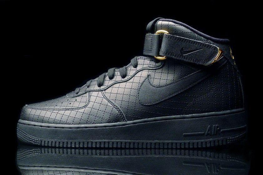 Nike online shop Air Force 1 Mid '07 Schwarz Sneakers,www