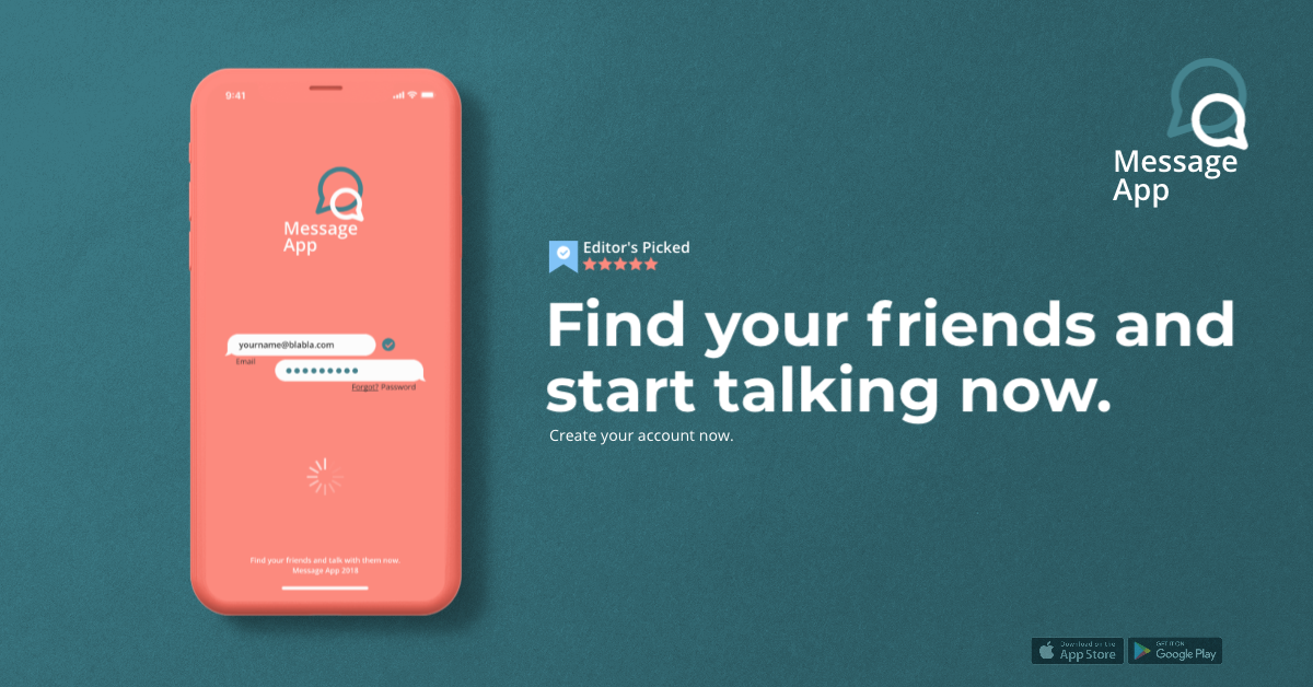 Check Out This Free Awesome Mockup Template From Artboard Studio Free Mockup Templates Mockup Templates Messaging App