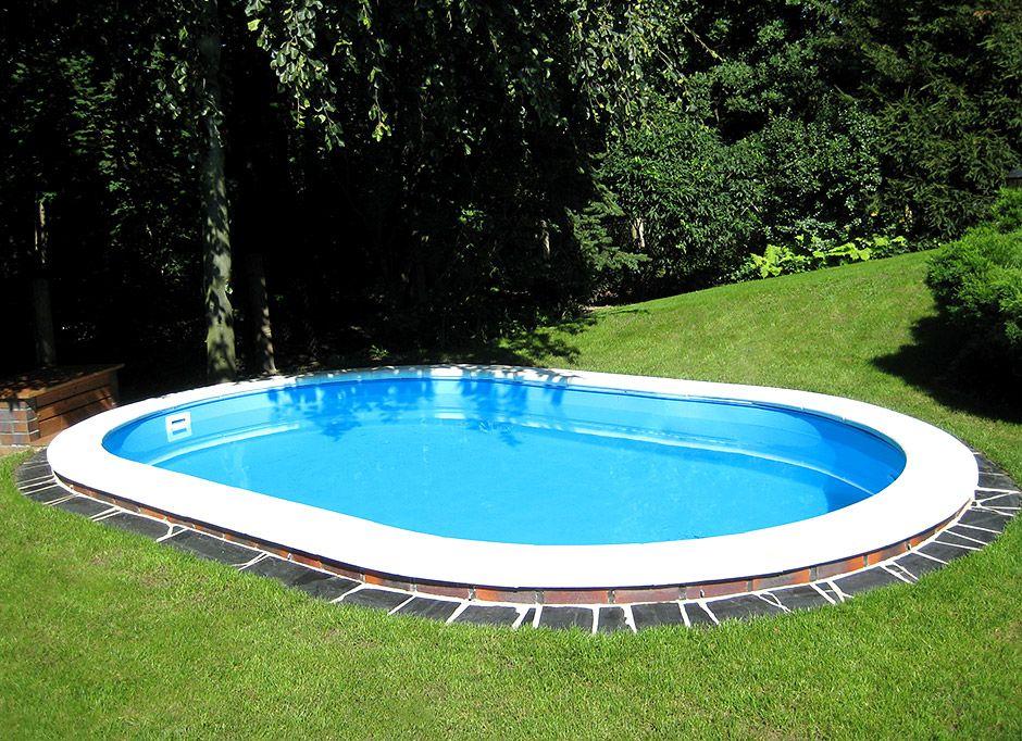 1000+ ideas about ovalpool on pinterest | pool im garten, garten, Garten ideen gestaltung