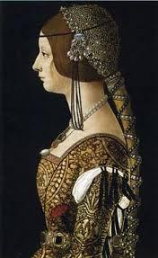 15th Century Women S Hairstyles Google Search Vozrozhdenie Iskusstva Italyanskij Renessans Portret