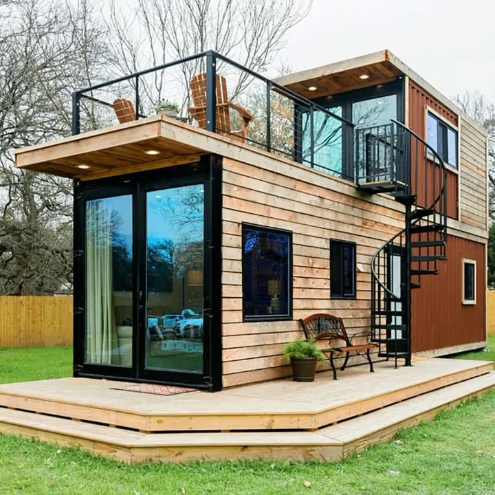 Two Story container Tiny Home