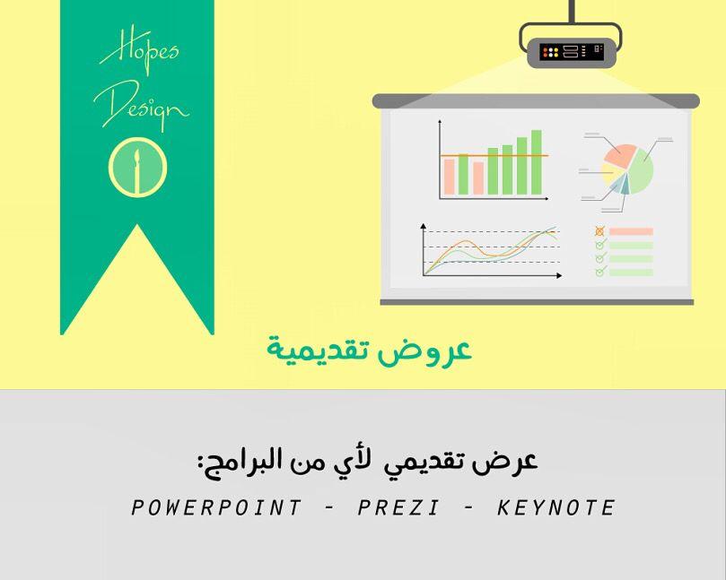 خدماتنا في العروض التقديمية تصميم عروض تقديمية Design Presentation Design Lettering Symbols