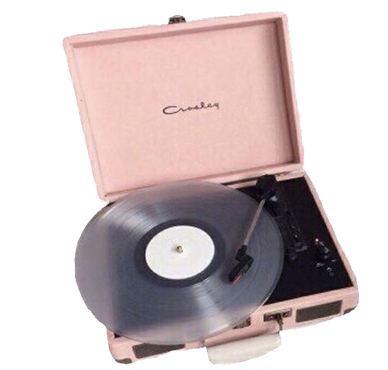Image About Tumblr In Think Pink By Wanda On We Heart It Pink Record Player Png Pastel Aesthetic