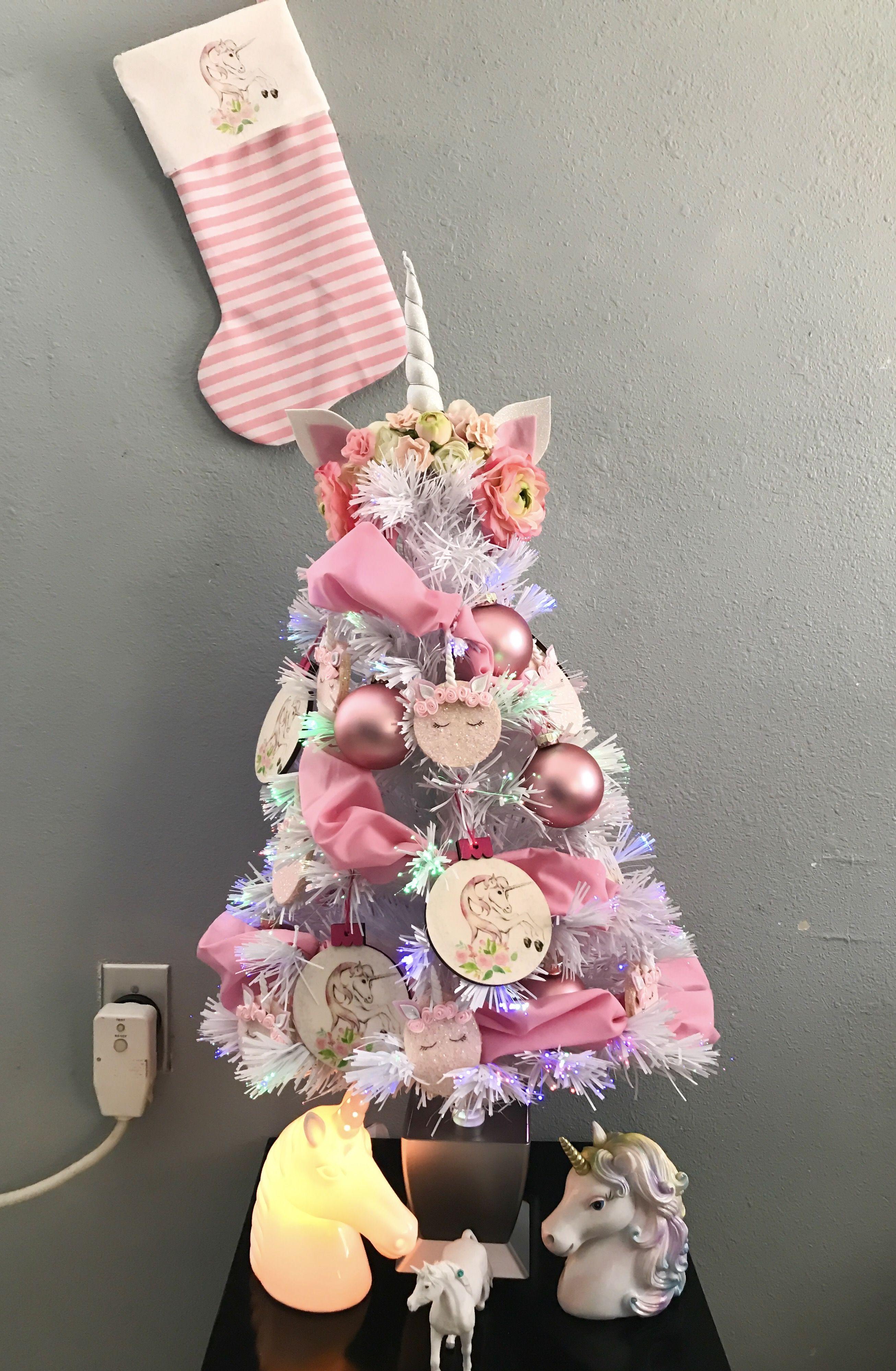 Unicorn Christmas Tree Christmas Pinterest Christmas