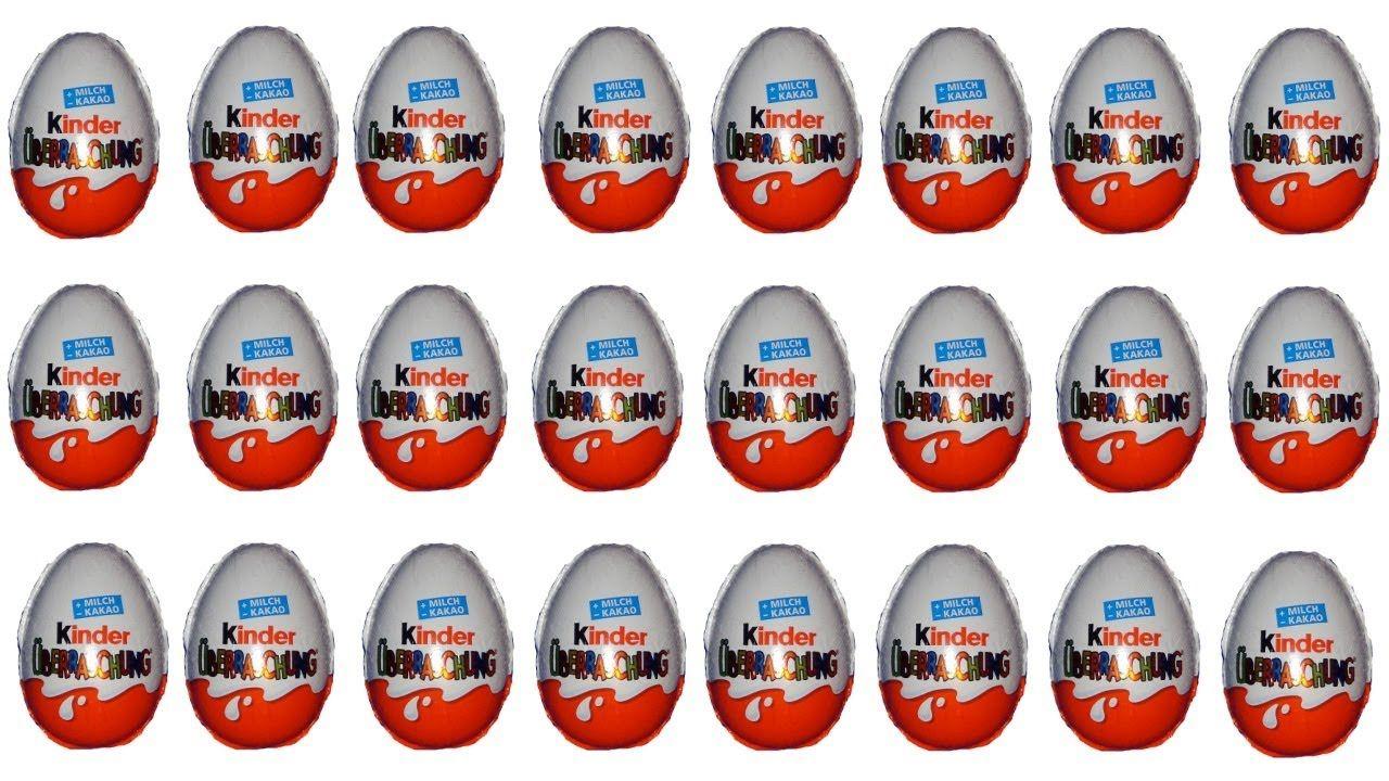 24 Kinder Surprise Surprise Eggs Smurfs 2 Unboxing Animation Surprise Egg Kinder Surprise Free Girl Games