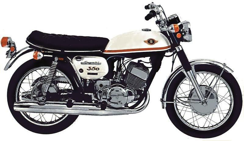 suzuki t350 motorcycle engine diagram google search two stroke rh pinterest com