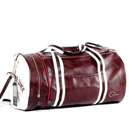 4c385923960b New Fashion Multifunction Mens PVC Travel Bags Brand Cylindrical Handbag  Men Crossbody Bags High Quality Shoulder Bags