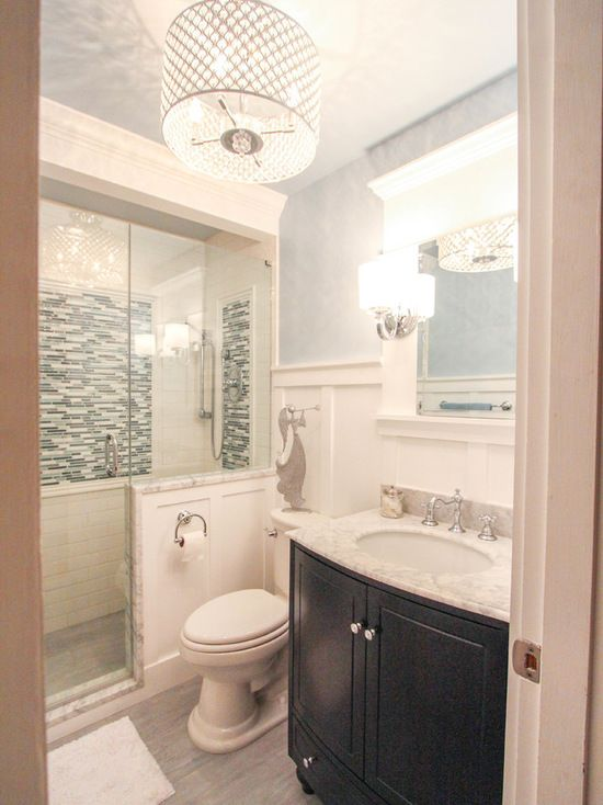 Small Ceiling Light Bath Design Ideas, Pictures, Remodel ...