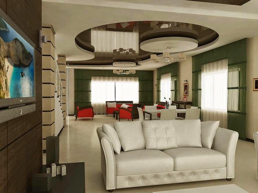 False Ceiling Designs Of Gypsum For Modern Living Room  Home Simple Modern Design Of Living Room Design Inspiration