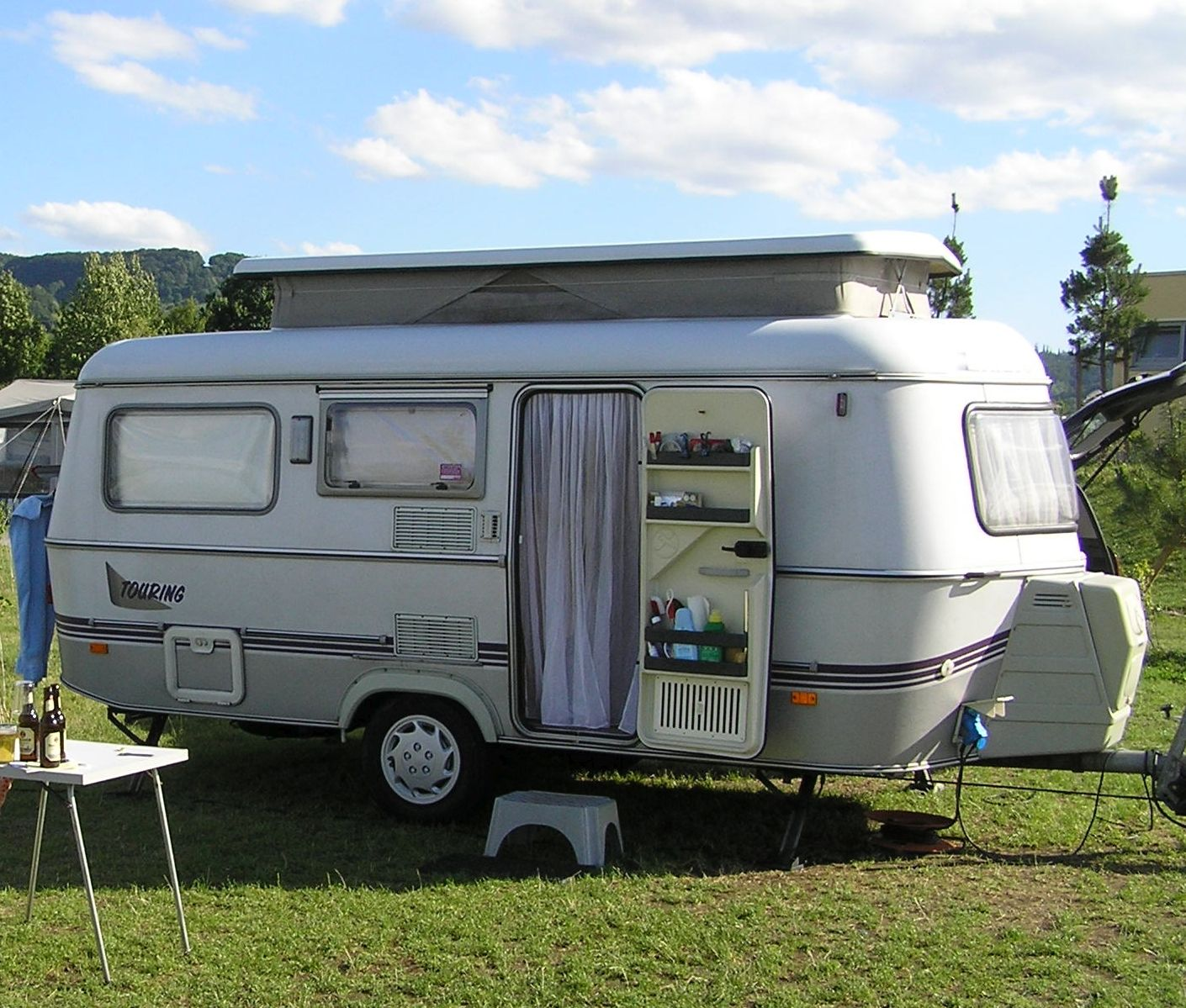 my eriba touring troll 1995 roadtrip caravane eriba. Black Bedroom Furniture Sets. Home Design Ideas