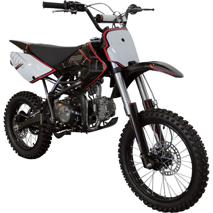 Metal Motorsports 125cc Dirt Bike Model 125 Dx Minibikes Dirt