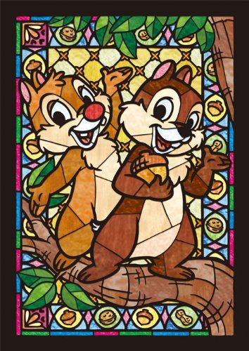 Stained Art 266-piece jigsaw puzzle Disney Mickey /& Friends tightly series