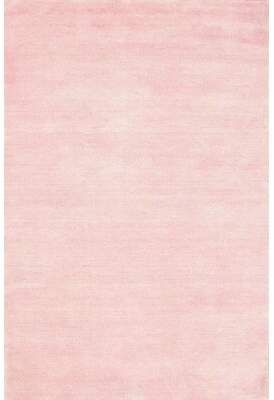 Photo of East Urban Home Contemporary Pink Area Rug | Wayfair