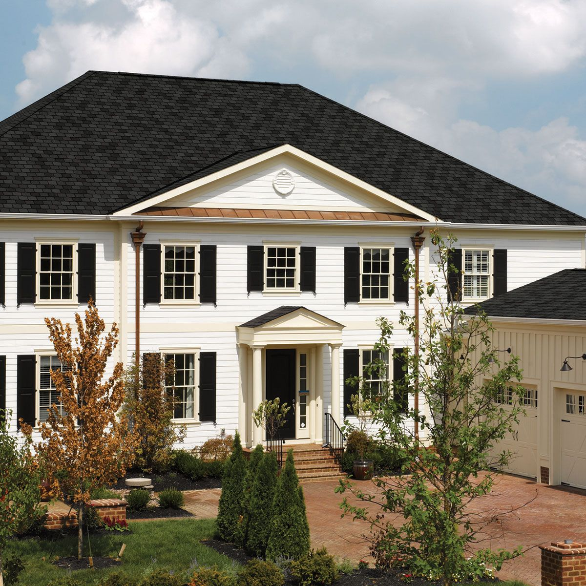 Highland Slate Black Granite Roof Colors Building Materials