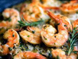 Photo of Grilled & Marinated Rosemary Shrimp