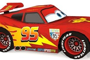 Maxi Size 36 x 24 Inch Cars 3 Lightning McQueen Stats Official Poster New
