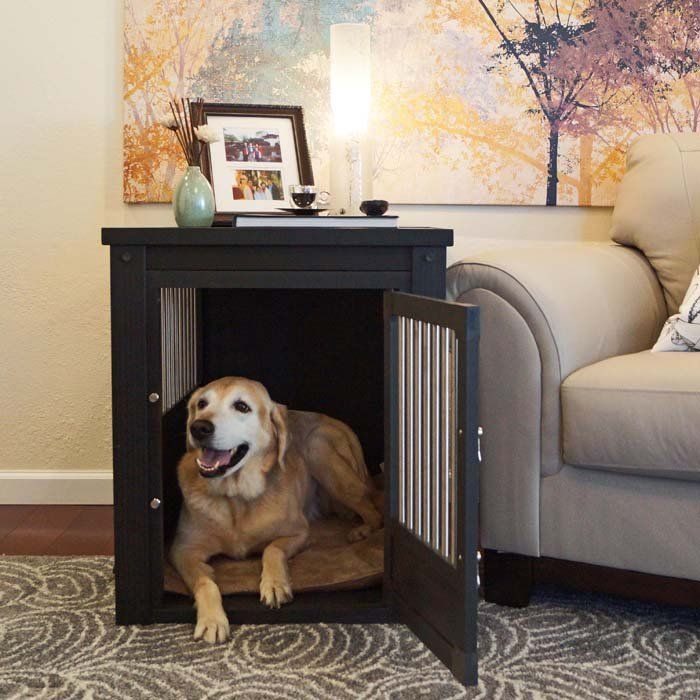 Furniture Style Dog Crates In Furniturestyle Dog Crates Keep Your Pooch Safely Contained And Look Great In Any Room