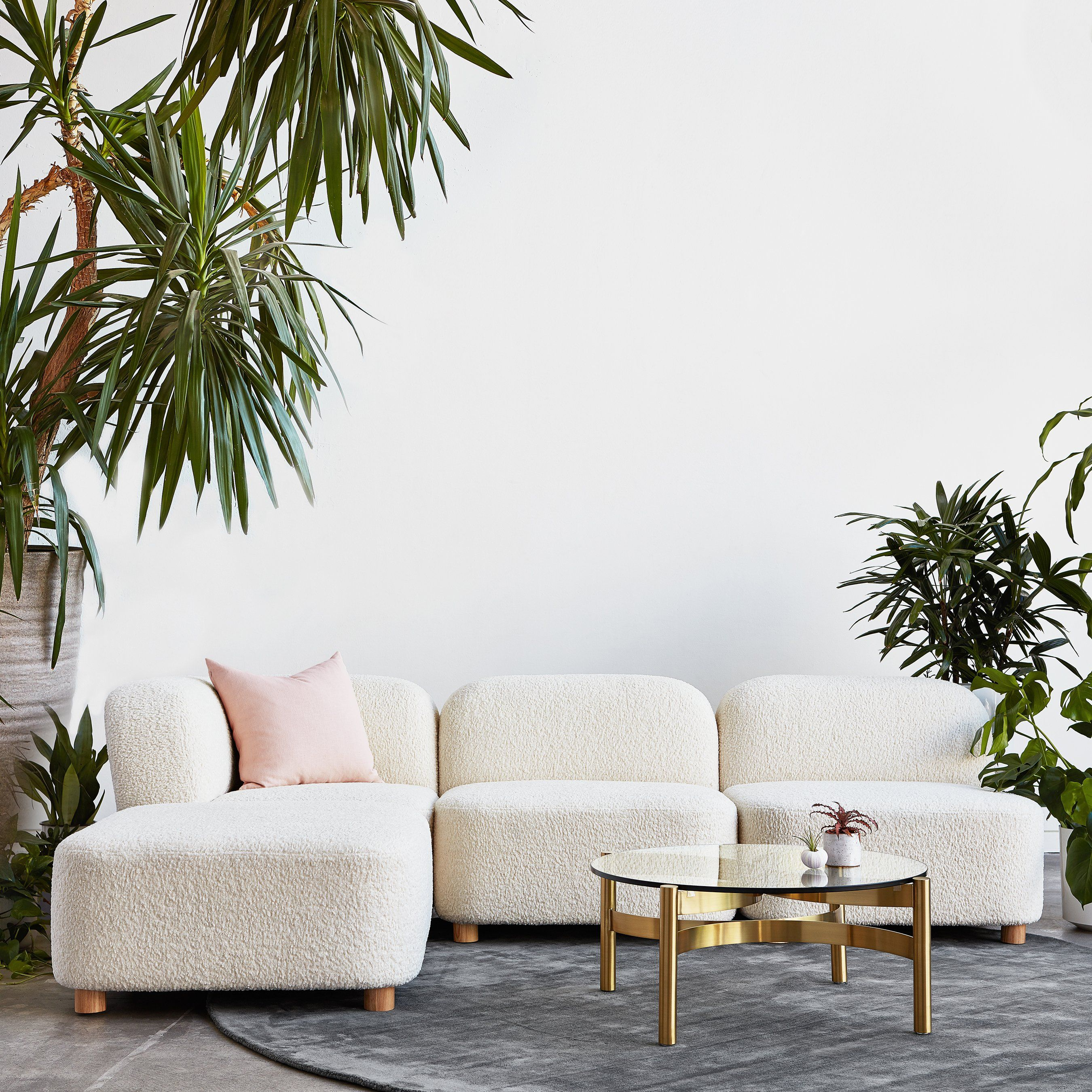 Circuit Modular 4 Piece Sectional Sofa In 2020 Gus Modern Contemporary Seating Modular Sectional