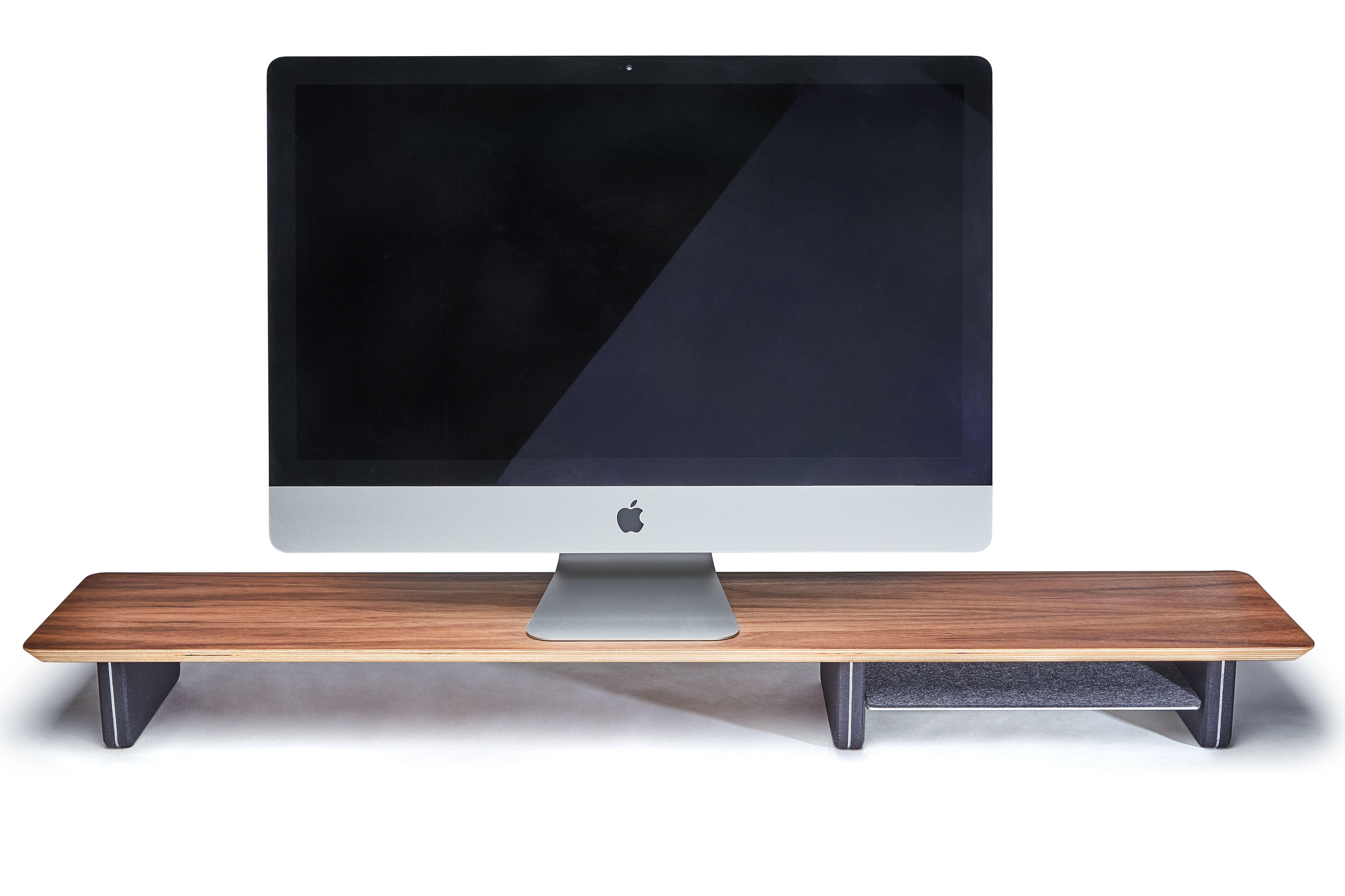 Wood Desk Shelf In 2020 Desk Shelves Walnut Desks Shelves
