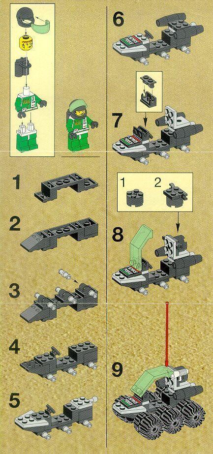 Old LEGO® Instructions | letsbuilditagain.com More – #legoinstructions