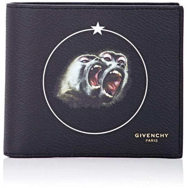 Givenchy Men's Coated Billfold ($390) ❤ liked on Polyvore featuring men's fashion, men's bags, men's wallets, black, givenchy mens wallet, mens wallets, mens billfolds and mens front pocket wallet