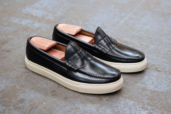 79cc6eeeb75 Beefroll Penny Loafer featuring classic white Margom sole   Oak street  Bootmakers
